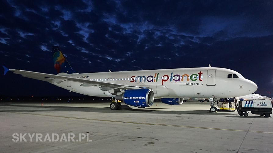 LY-SPI - Airbus A320 - Small Planet Airlines