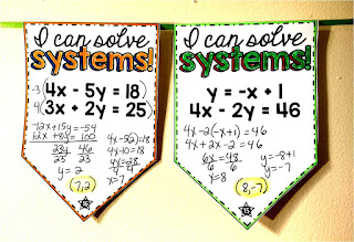 Systems of Equations pennant