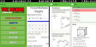 Aplikasi Android Latihan Soal UN, SBMPTN dan CPNS