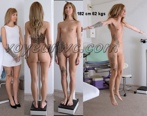 Gyno-clinic - Gyno exam for tall girl (Barbra 23 years)