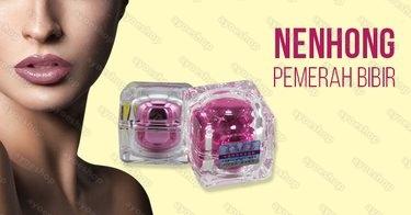 Banner Nenhong Pemerah Bibir Original
