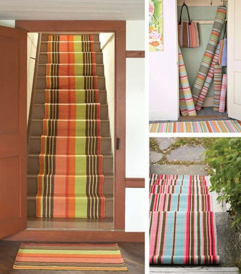 Ikea Striped Rug Runner: The Old Lucketts Store