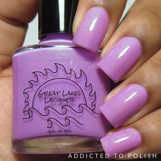 great lakes lacquer lilac love april limited editions