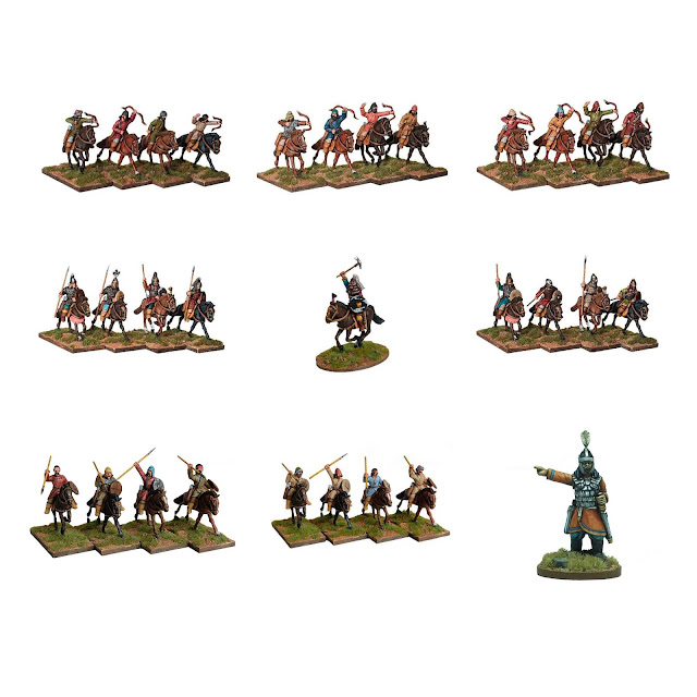 Footsore Miniatures: The Huns Miniature Range Release