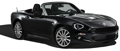 FIAT 124 Spider Black edition