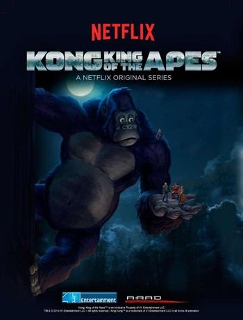 Kong King of the Apes S01E03 Dual Audio Hindi 720p WEBRip 200mb