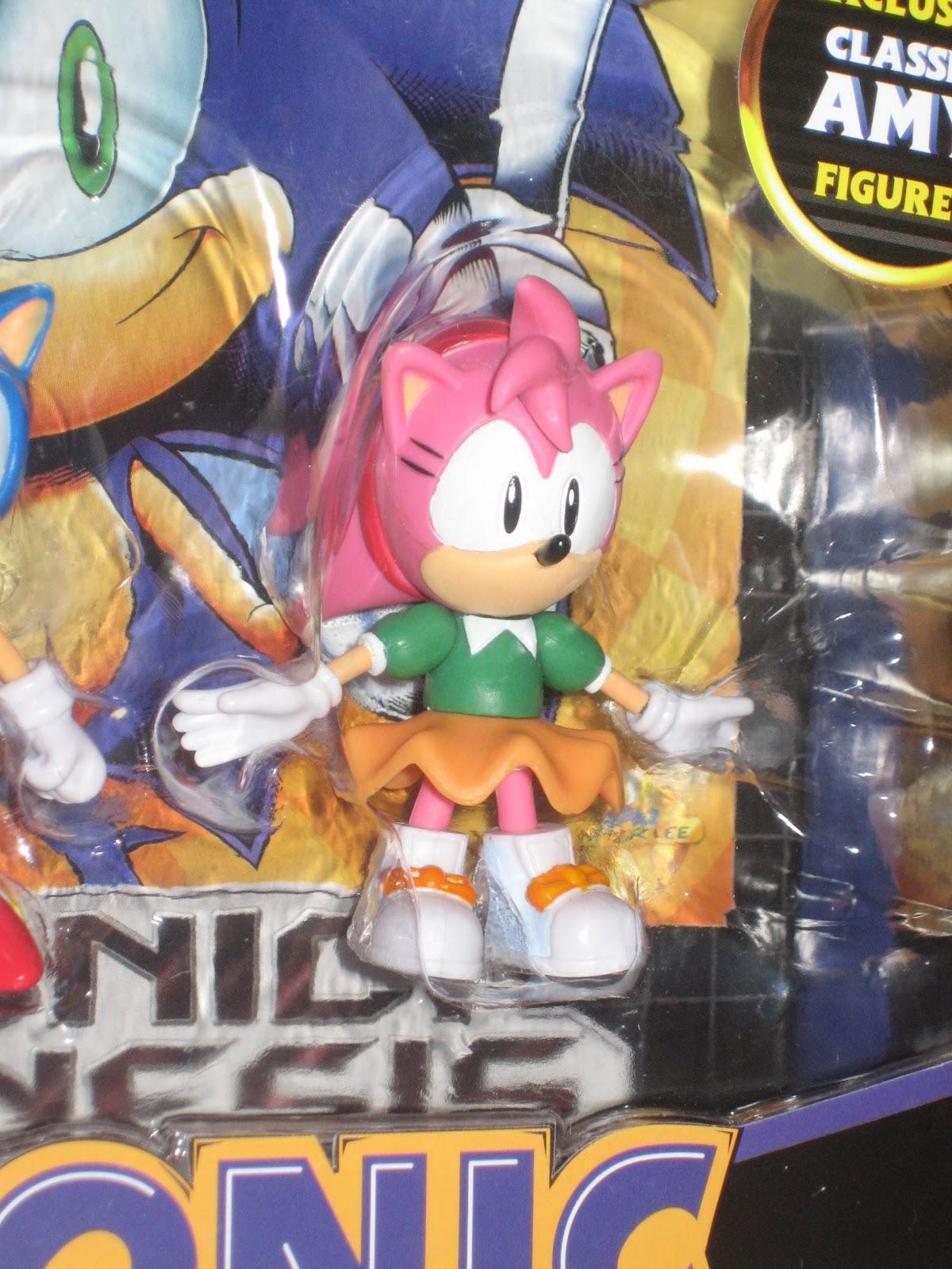 Amy Off Of Sonic sega memories: jazwares roundup: classic amy, super