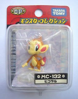 Chimchar Pokemon Figure Takara Tomy Monster Collection MC series