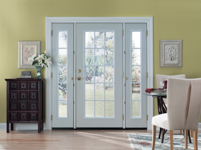 Single Patio Door With Sidelights Hd Wallpaper And Desktop Background