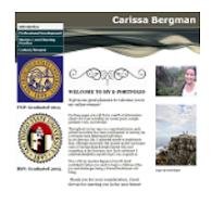 View Carissa's eFolio Site