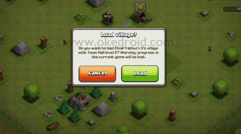 Load Town Hall Clash of Clans
