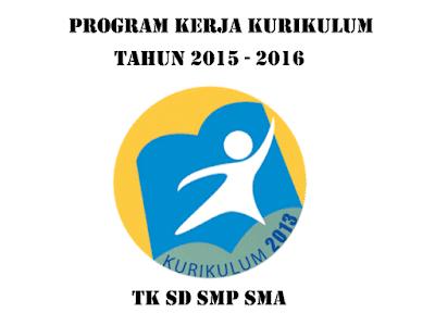 Contoh Program Kerja Sekolah Kurikulum 2013 Untuk TK SD SMP SMA