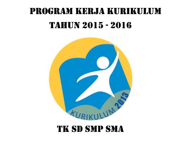 Download Contoh Program Kerja Sekolah Kurikulum 2013 Untuk TK SD SMP SMA terbaru