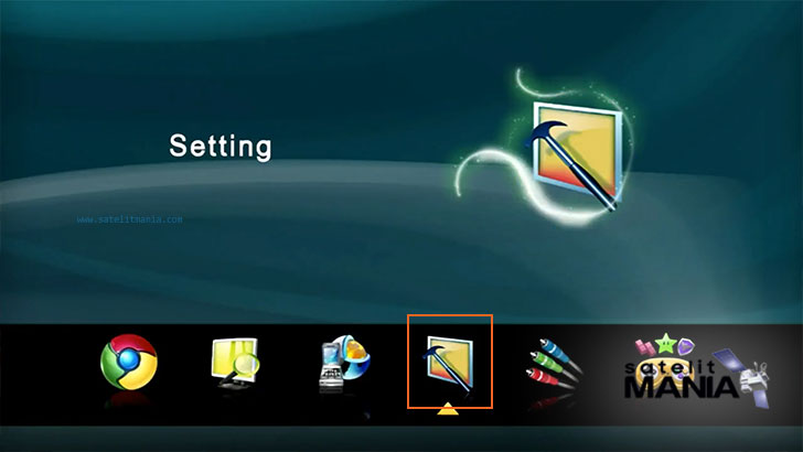 Cara Webserver Receiver Parabola Kaonsat Imax-899 AVS+
