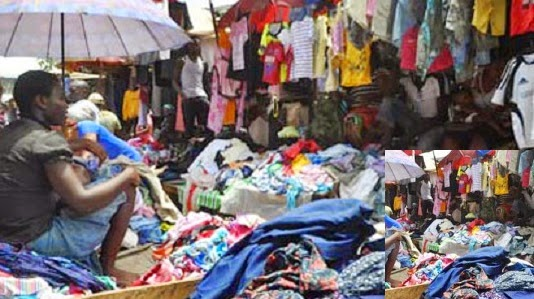 okrika cloth market
