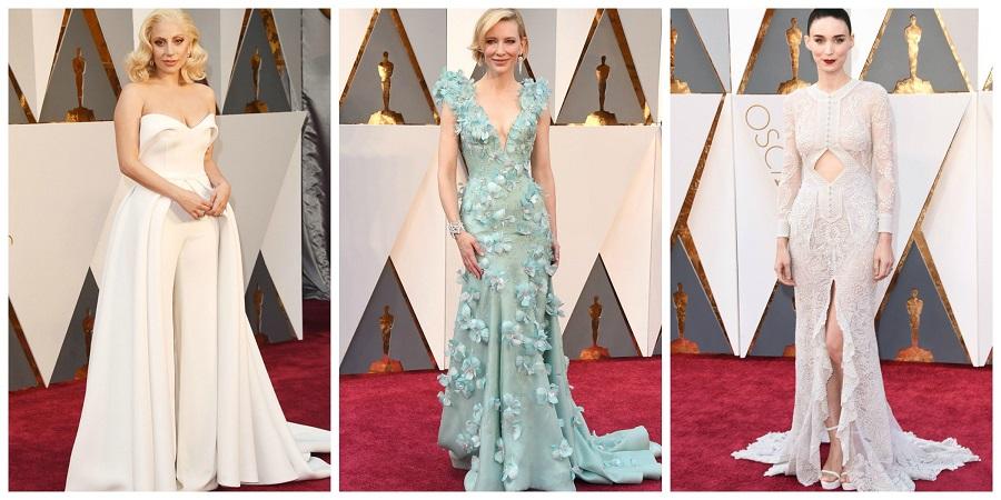 Oscars fashion 2016, who wore who, Lady Gaga, Cate Blanchett, Rooney Mara