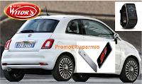 Logo Concorso Witor's e vinci 120 Smartwatch, 18 Iphone e una Fiat 500
