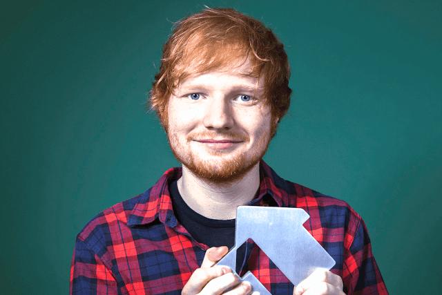 """Ed Sheeran es acusado de plagiar su éxito """"Thinking Out Loud""""."""
