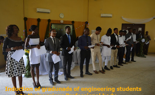 NSE inducts first FUOYE Engineering graduands