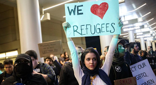 Number of refugees admitted to U.S. drops by almost half