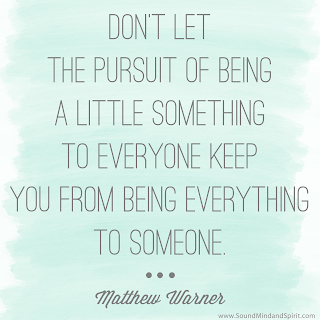 Be Everything to Someone - Matthew Warner