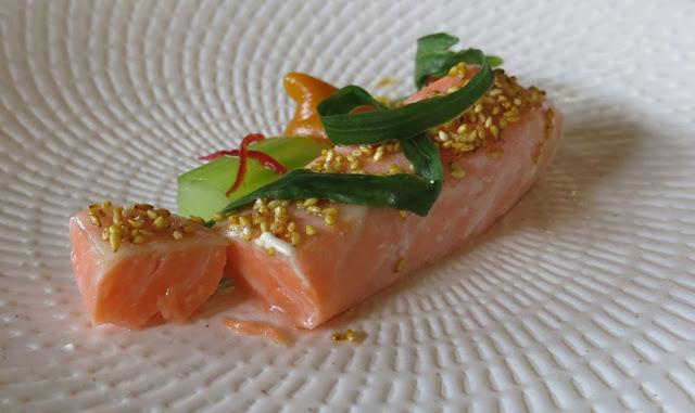Morris Jones & Co, Windsor, poached salmon