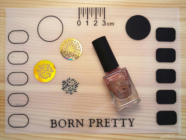 Review of nail vinyls and nail art mat from Born Pretty Store | polilish