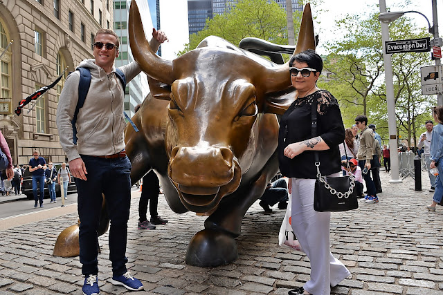 new york, Charging Bull, Wall Street