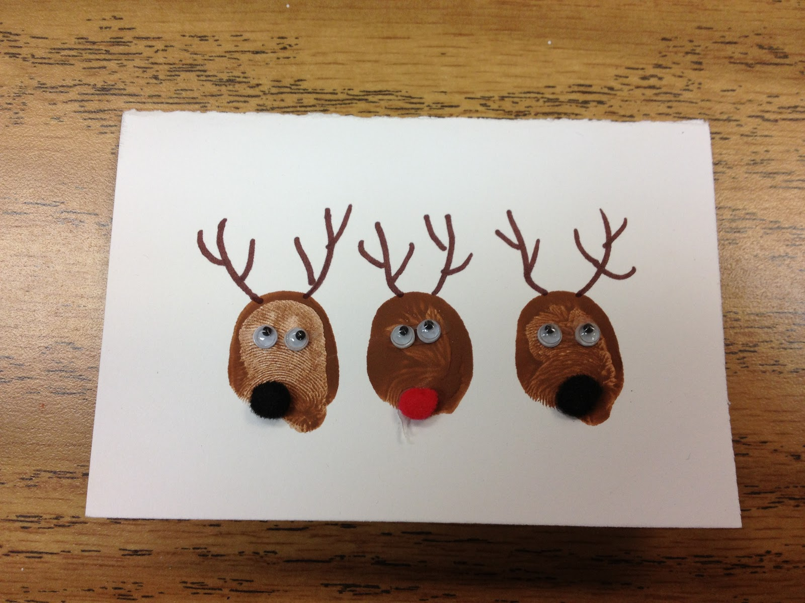 Christmas Crafts Reindeer Noses