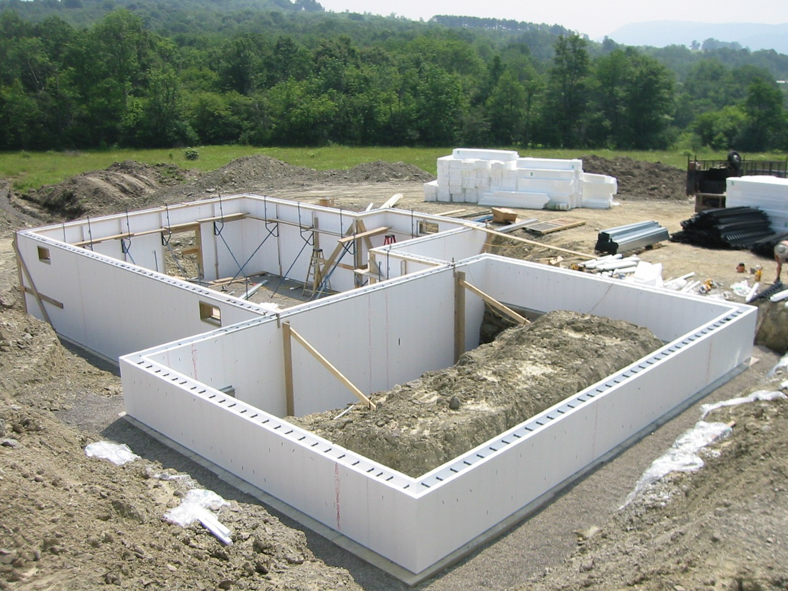 Building a strong foundation in 7 steps for Building a house foundation