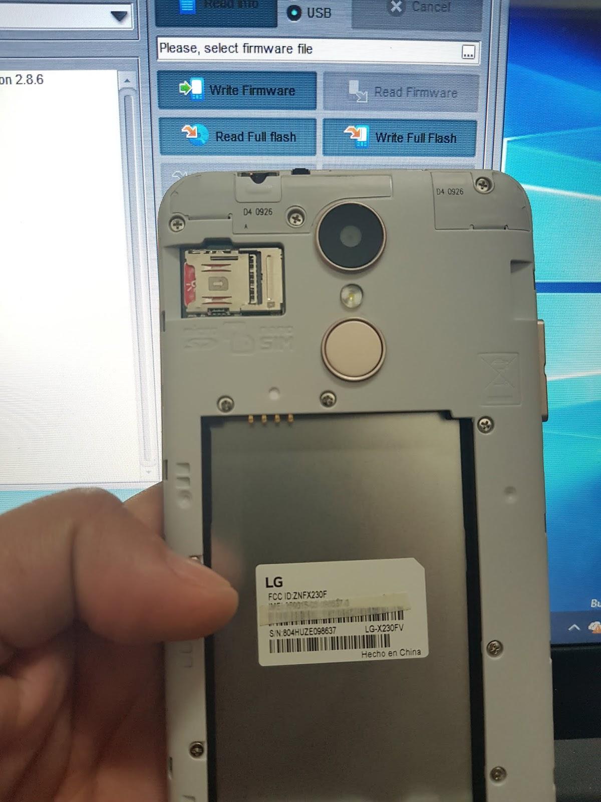 LG X230FV Revivir y/o Actualizar (Rom / Octoplus Box