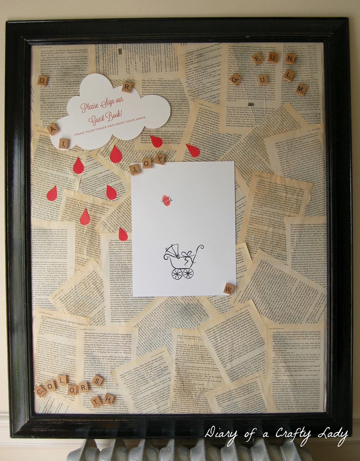 Scrapbook guest book ideas - Scrapbook Guest Book Ideas 25