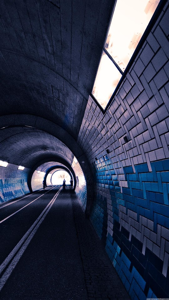 Underground Subway Tunnel  Galaxy Note HD Wallpaper