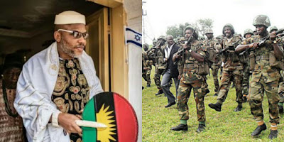 Nnamdi KANU and Nigerian Army