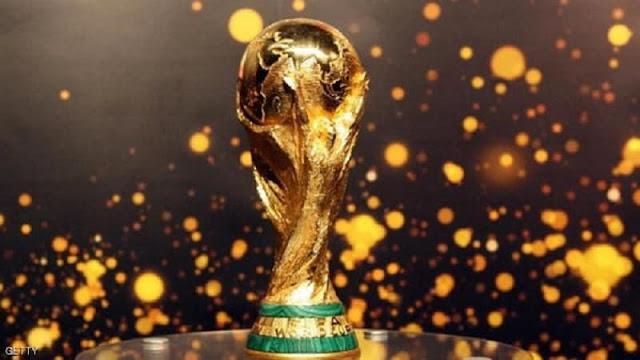 شاهد بالفيديو كيف تمت صناعة كأس العالم .!