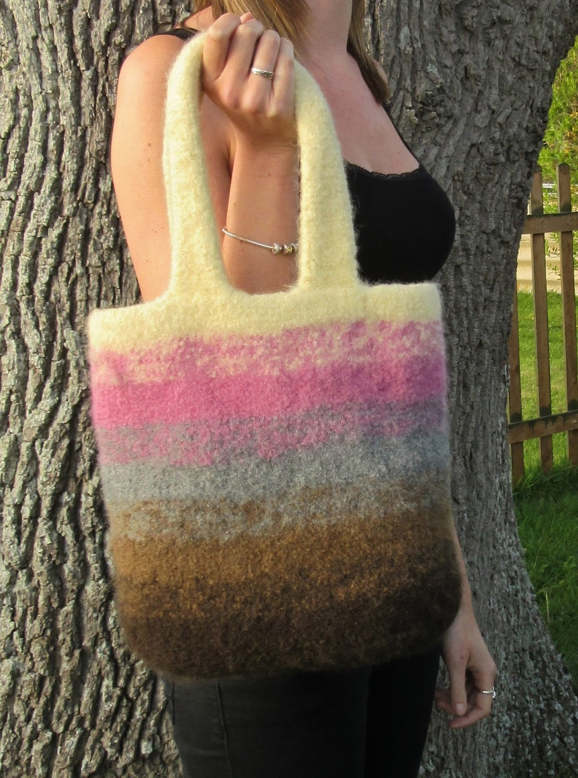 bag after felting