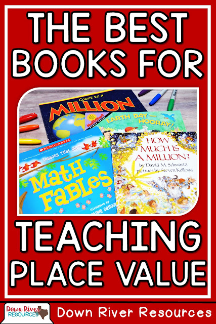 The Best Books for Teaching Place Value by Down River Resources