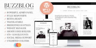 BuzzBlog WordPress Theme Free Download