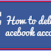 How to Remove Account From Facebook Permanently
