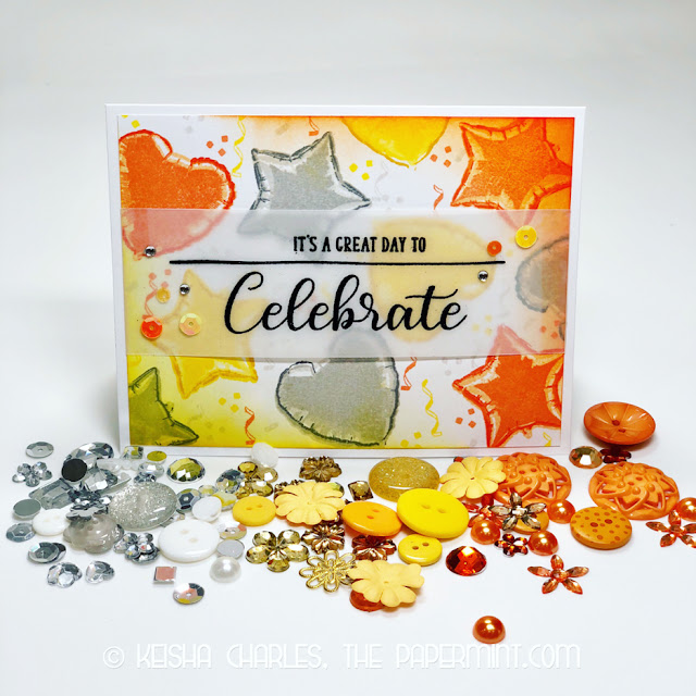 Sunny Studio Stamps: Bold Balloons Customer Card by Keisha Charles