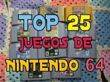 Mega post Top 25 Mejores Juegos de Nintendo 64