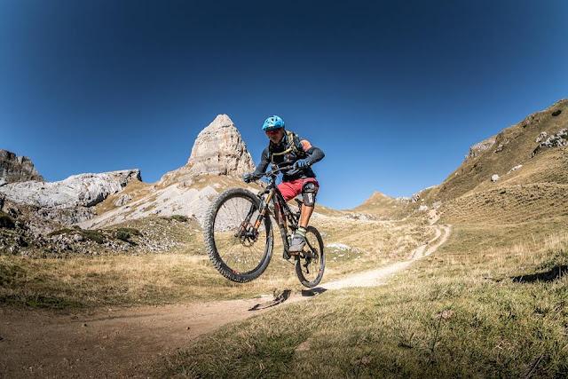 Mountainbike Trail Rofanspitze