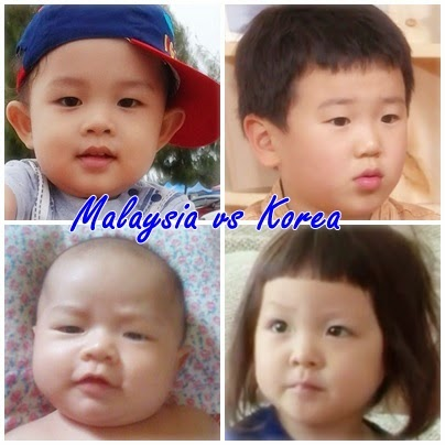 malaysia vs korea, sarang the return of superman, yoon hoo Dad ! Where Are You Going? and The Return of Superman