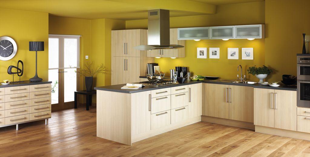 10 Fotos de Cocinas Amarillas - Colores en Casa