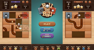 best android games Role the ball slide puzzle
