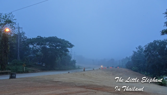 Route 101 in Nan - North Thailand