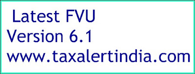 Latest FVU Version 6.1 and File Validation Utility FVU e-TDS Software