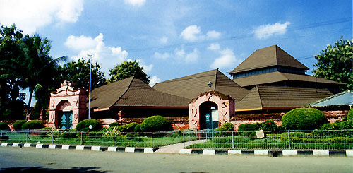 Masjid Agung Sang Cipta Rasa Cirebon.