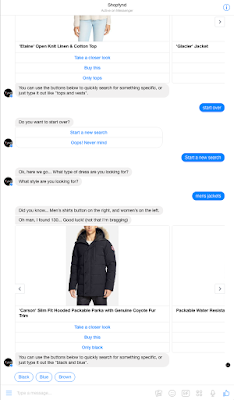 We interview Charese Embree on their #AI fashion bot - Fyndbot