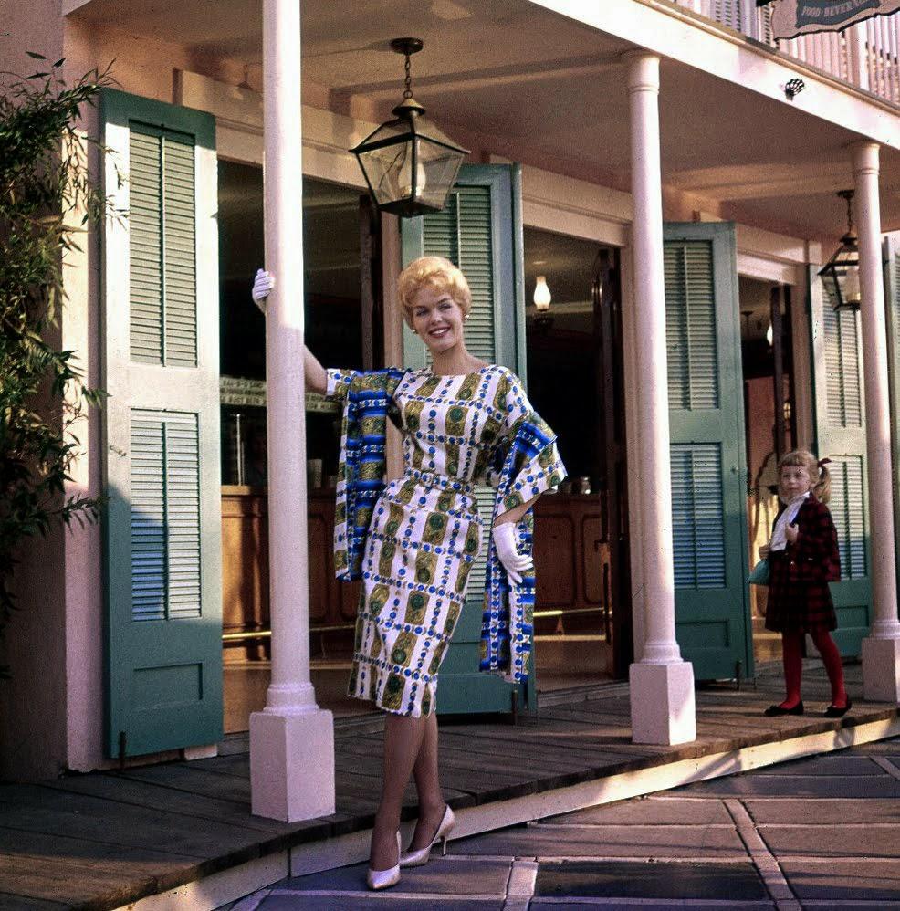 Disneyland Fashion Shoot 1961 Vintage Everyday